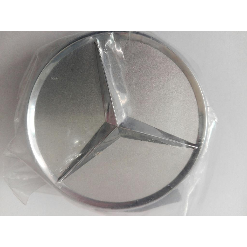 Genuine Mercedes Centre Cap Chrome Titanium Silver (B66470202)