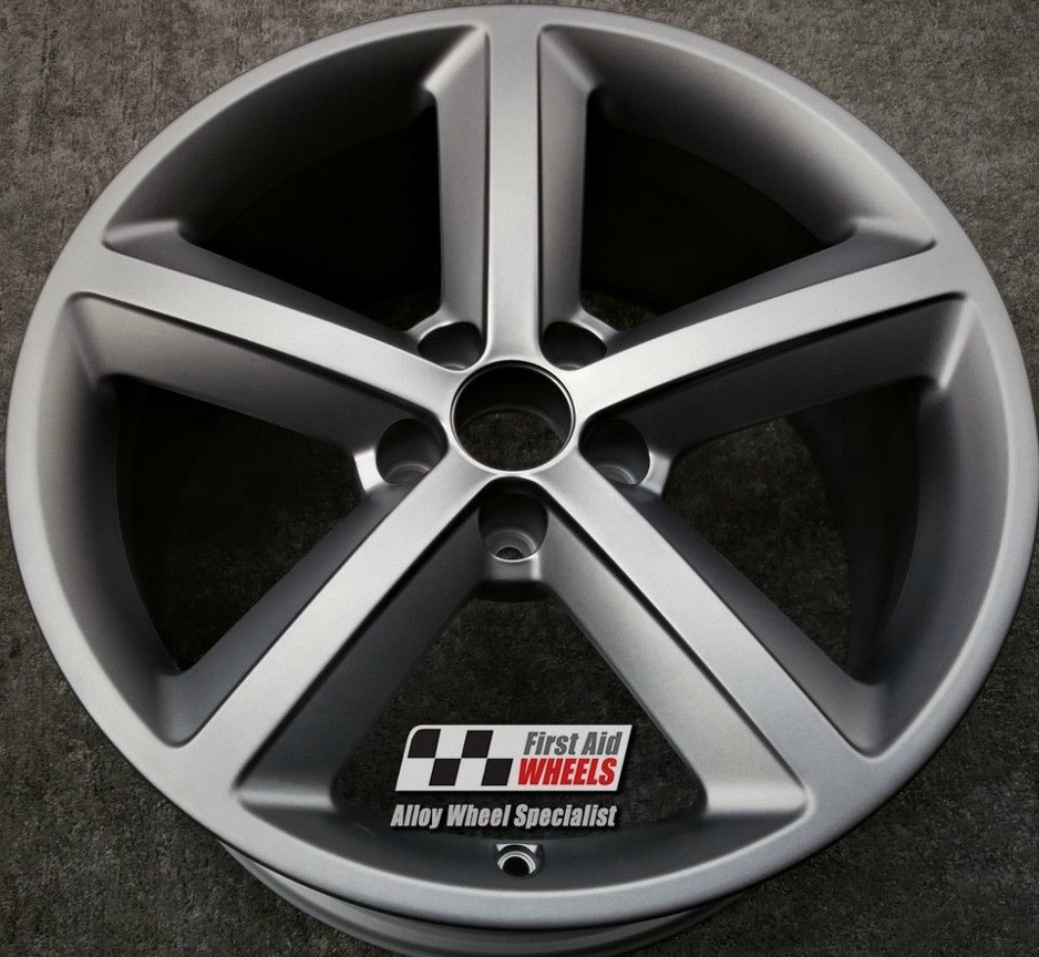 "R251 Grey AUDI A4 18"" - 5 Spoke Genuine Alloy Wheels set of 4 - EXCHANGE"