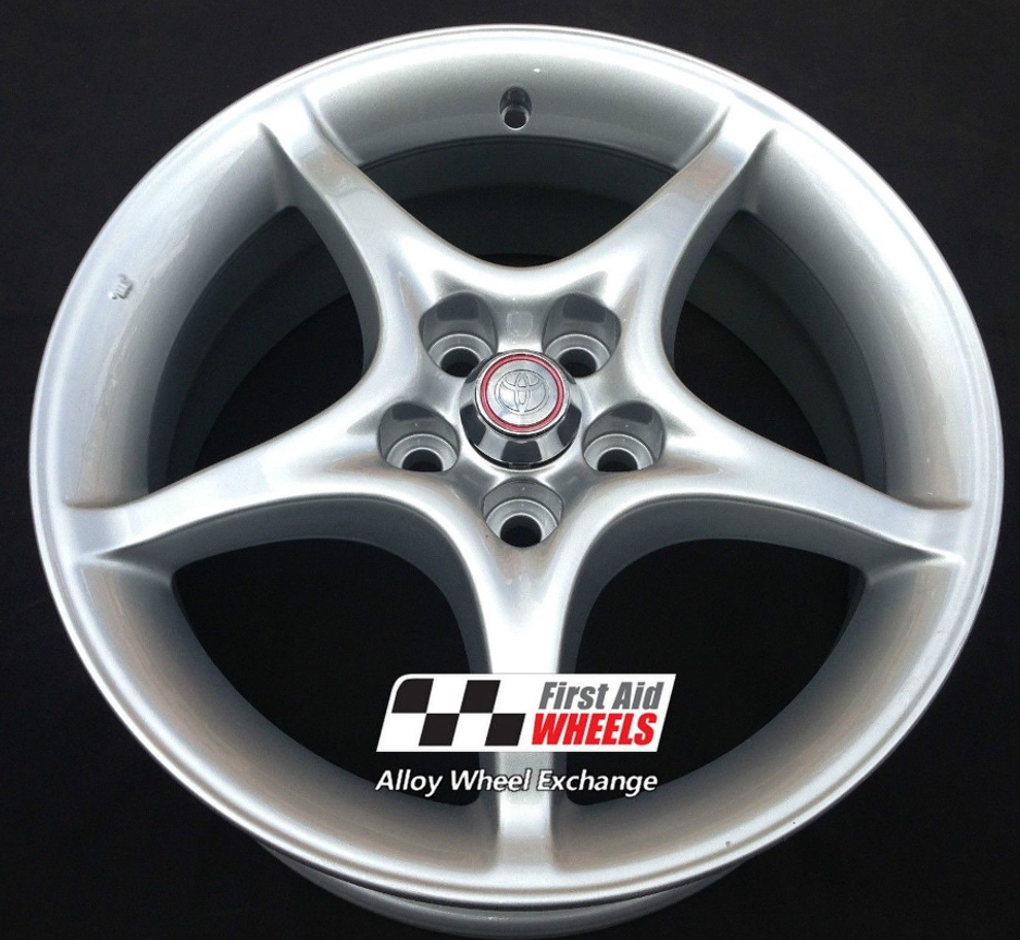 "R214 Silver TOYOTA CELICA 16"" - Genuine Alloy Wheels R214 Set of 4 - EXCHANGE"