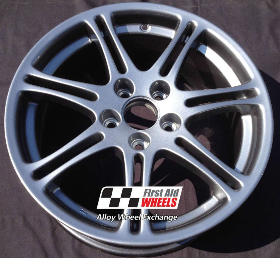 "R202 Silver HONDA CIVIC TYPE R EP3 17"" - Genuine Alloy Wheels Set of 4 - EXCHANGE"