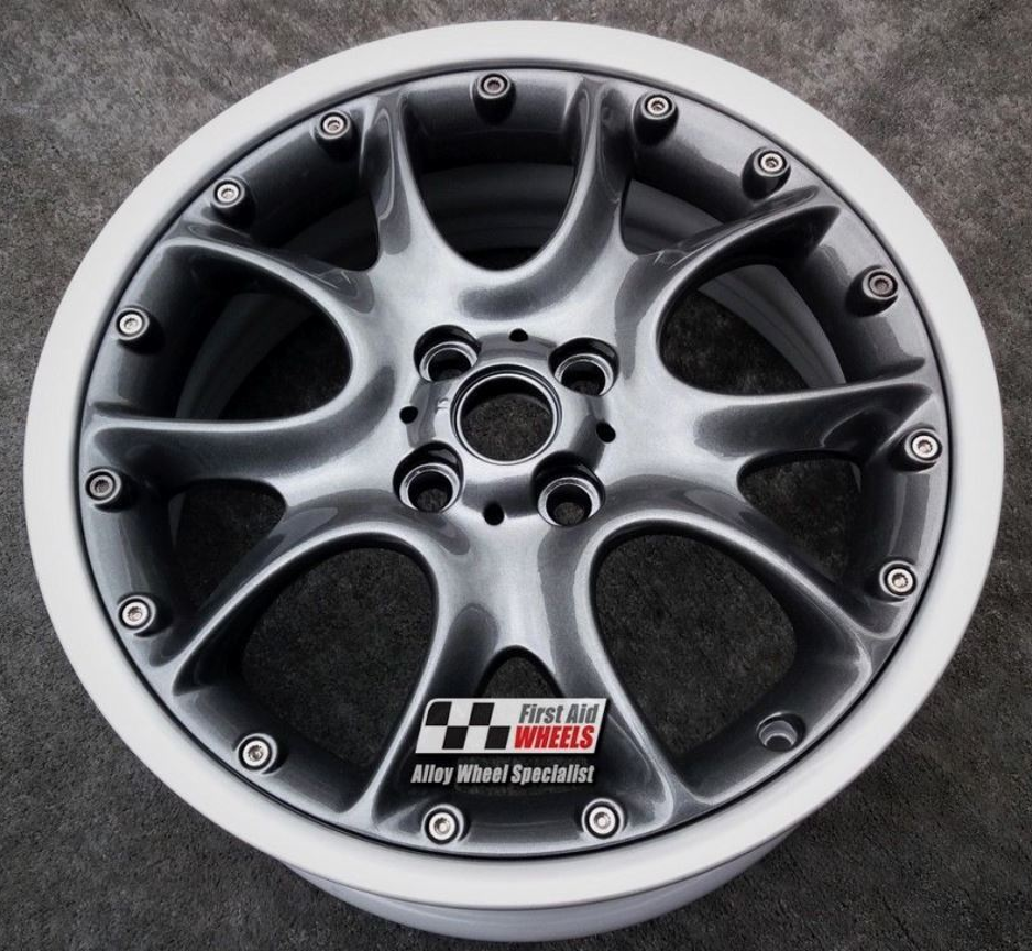 "R341 Anthracite MINI COOPER S 17"" - R98 WEB Spoke Split Rim Genuine Alloy Wheels Set of 4 - EXCHANGE"