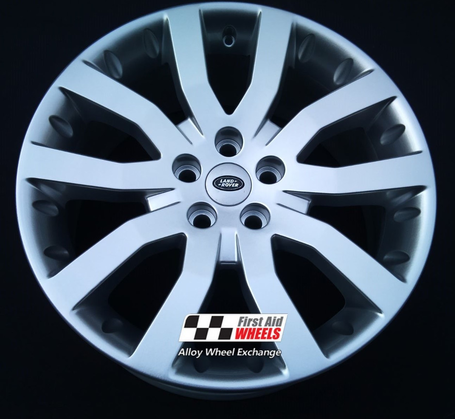 "R511 Silver RANGE ROVER L405 20"" - Style 502 Genuine Alloy Wheels Set of 4 - EXCHANGE"