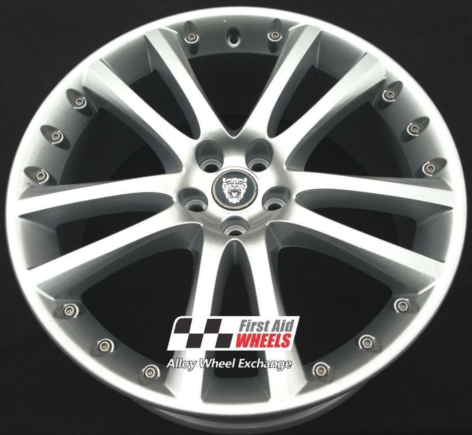 "R414 Silver JAGUAR XFR XK 20"" - SENTA Genuine Alloy Wheels Set of 4 - EXCHANGE"