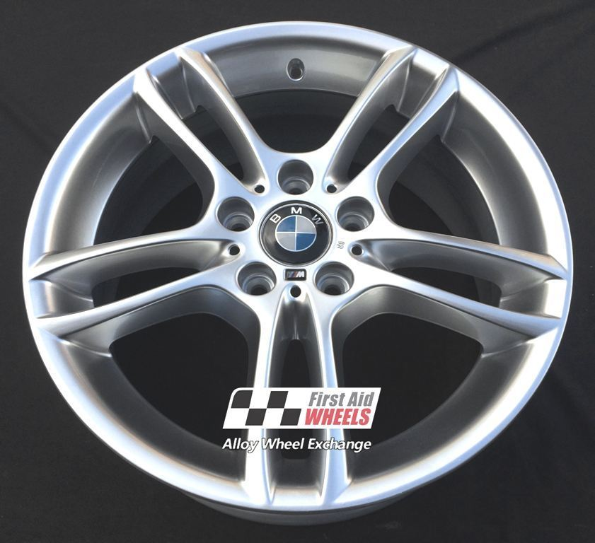 "R255 Silver BMW 1 SERIES 18"" - Style 261 Genuine Alloy Wheels Set of 4 - EXCHANGE"