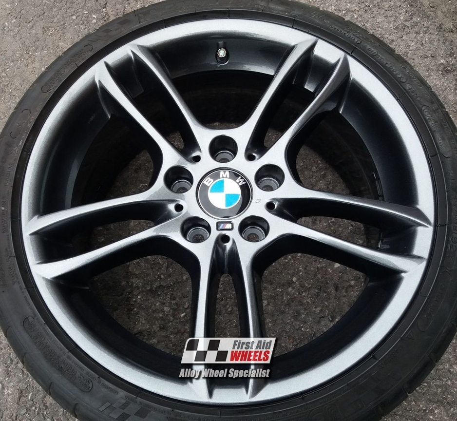 "R255 Sparkle Anthracite BMW 1 SERIES 18"" - Style 261 Genuine Alloy Wheels Set of 4 - EXCHANGE"