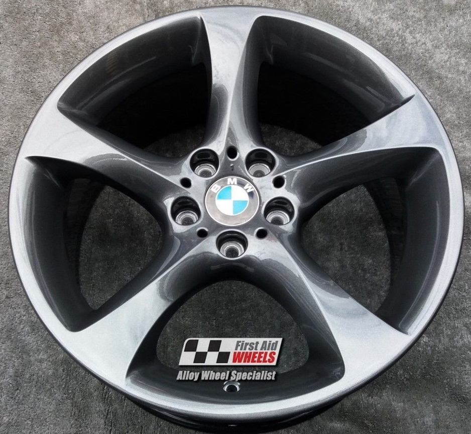"R219 Anthracite BMW 3 SERIES E90 E93 19"" - Style 230 Twist Genuine Alloy Wheels Set of 4 - EXCHANGE"