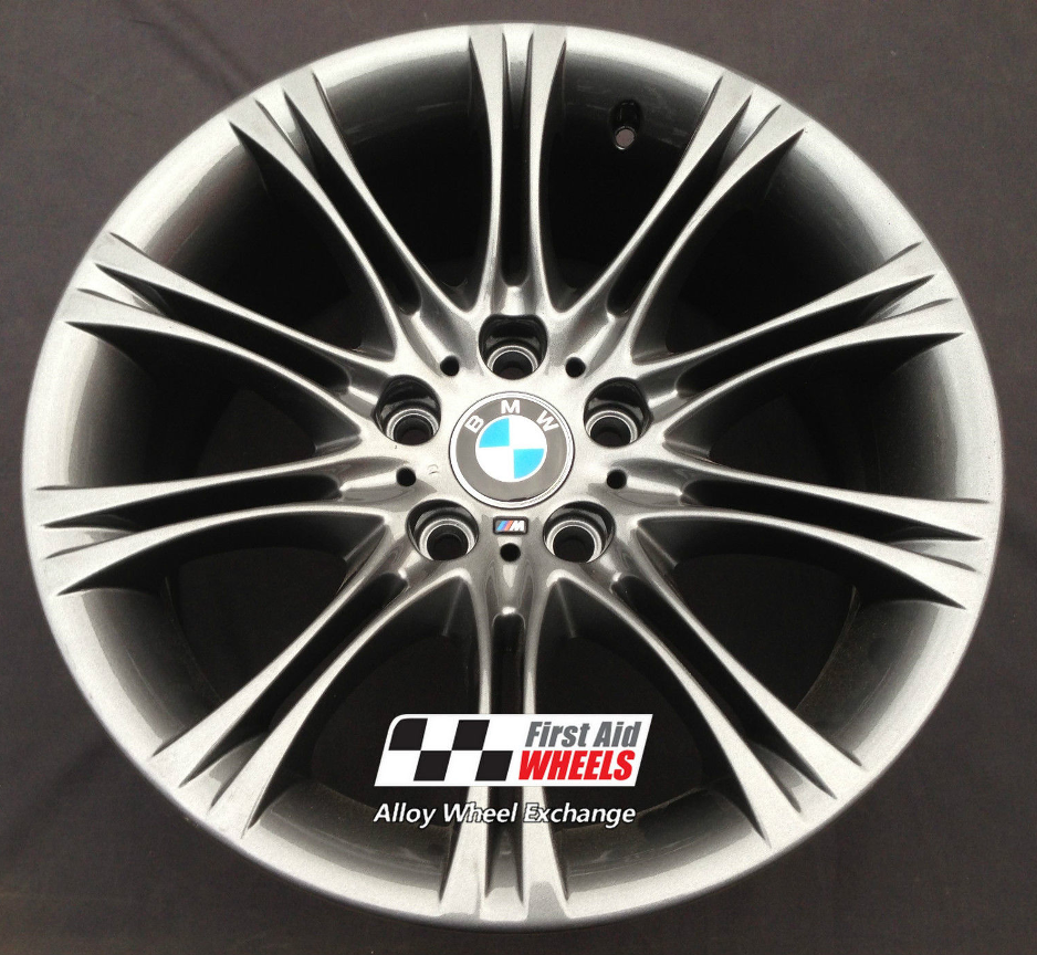 "R105 Anthracite BMW 5 SERIES E60 E61 MV2 M-SPORT 18"" - Genuine Alloy Wheels Set of 4 - EXCHANGE"