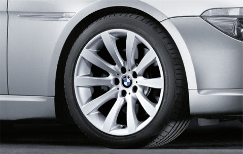 "BMW 6 Series E63 E64 19"" Style 218 Star Spoke Genuine Rear Alloy Wheel"