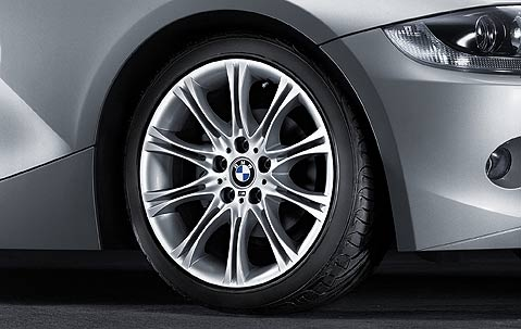 "BMW 5 Series E60 E61 18"" Style 135M MV2 Double Spoke Genuine Front / Rear Alloy Wheel"