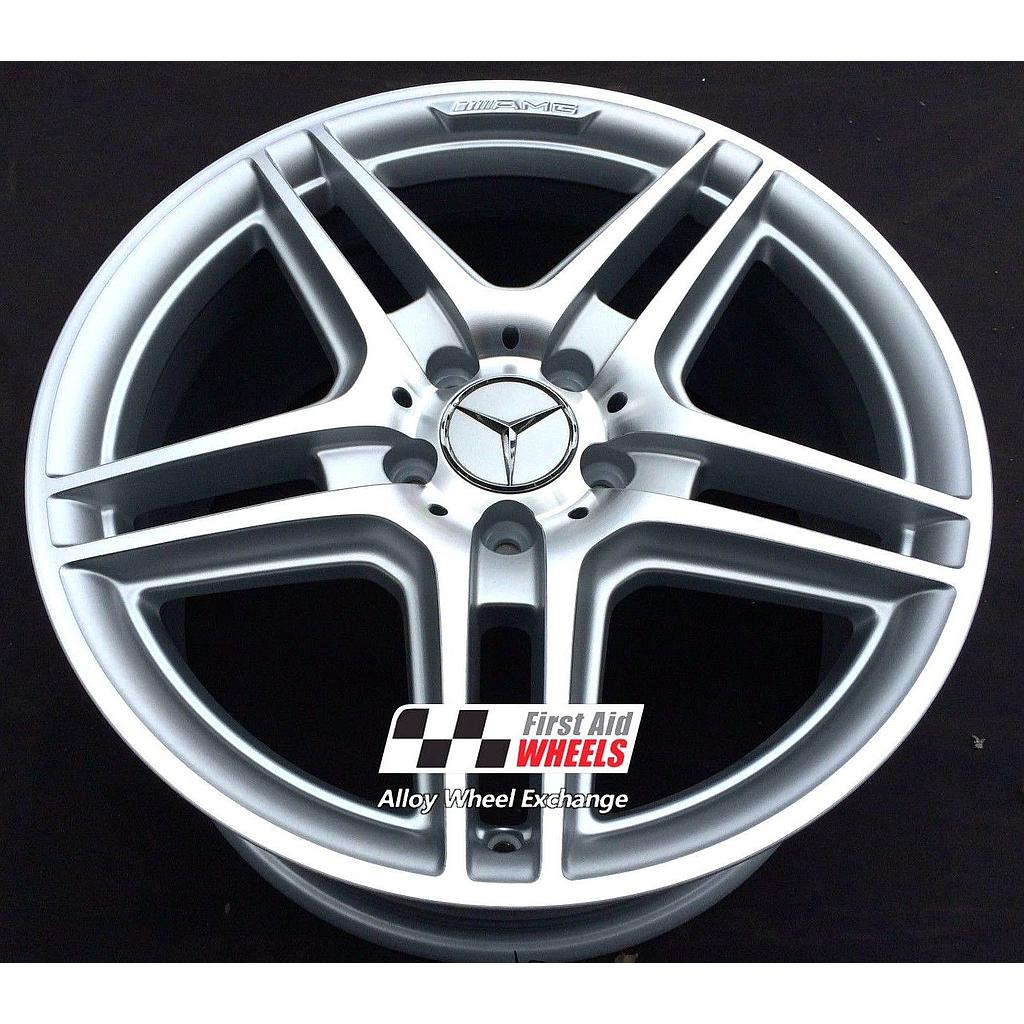 "Mercedes C-Class W204 17"" AMG IV Genuine Refurbished Front Alloy Wheel"