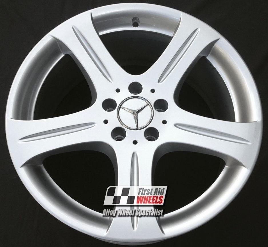 "R415 Silver MERCEDES CLS 18"" - Genuine  Alloy Wheels Set of 4 - EXCHANGE"