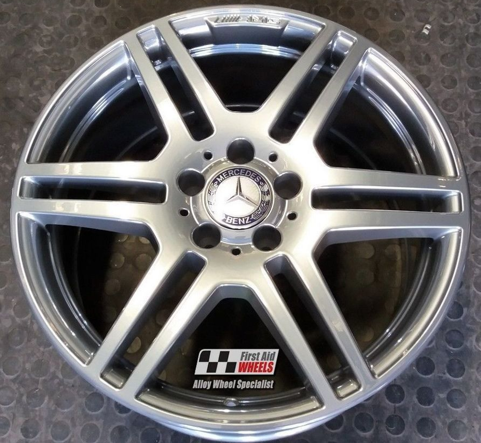 "R288 Chrome MERCEDES E CLASS ESTATE/SALOON 18"" - AMG IV Genuine Alloy Wheels Set of 4 - EXCHANGE"