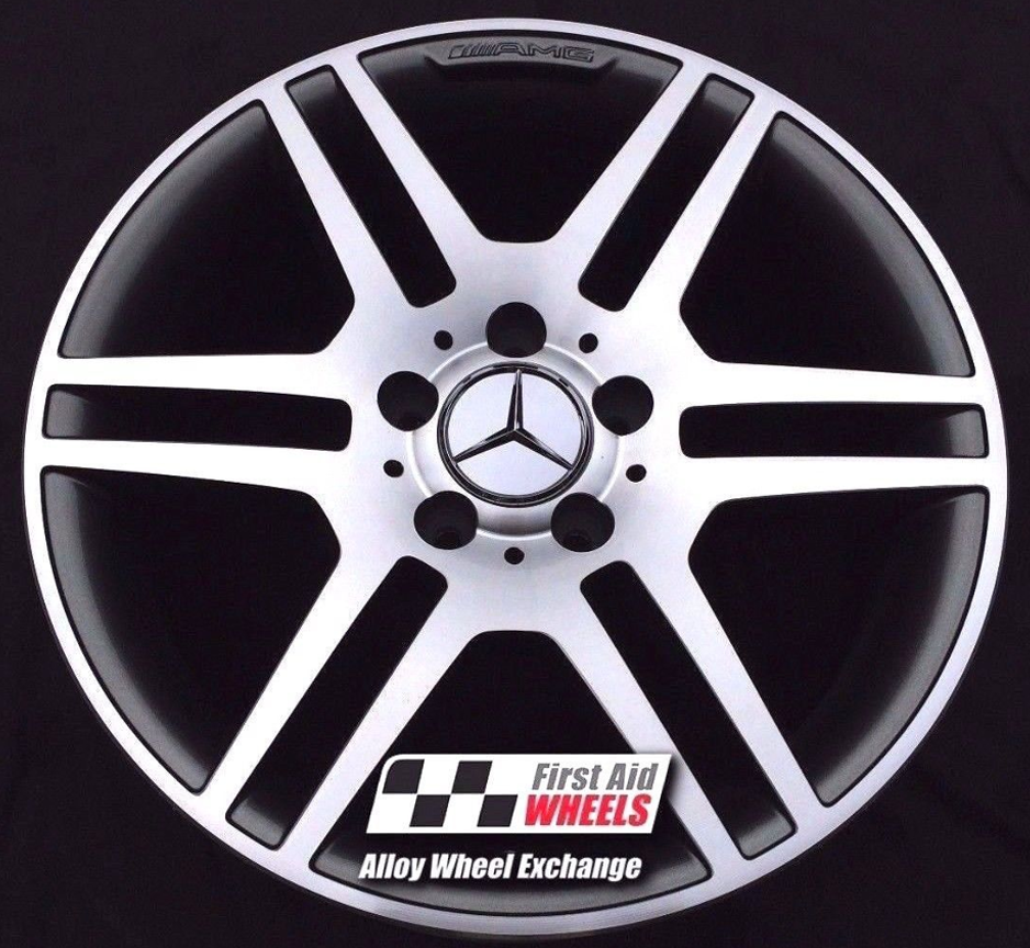 "R288 Diamond Cut Grey MERCEDES E CLASS ESTATE/SALOON 18"" - AMG IV Genuine Alloy Wheels Set of 4 - EXCHANGE"