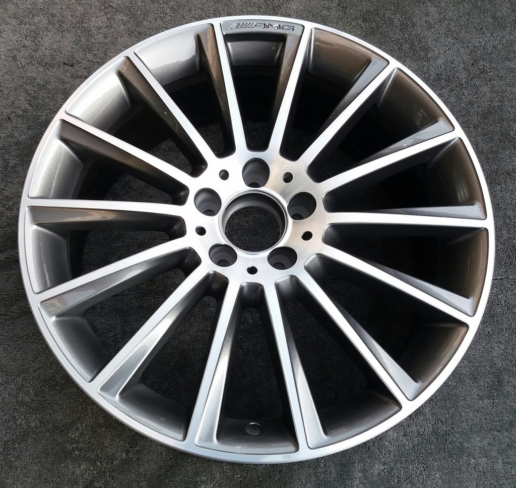 "Mercedes C Class W205 19"" AMG 14 Spoke Genuine Refurbished Front Alloy Wheel"