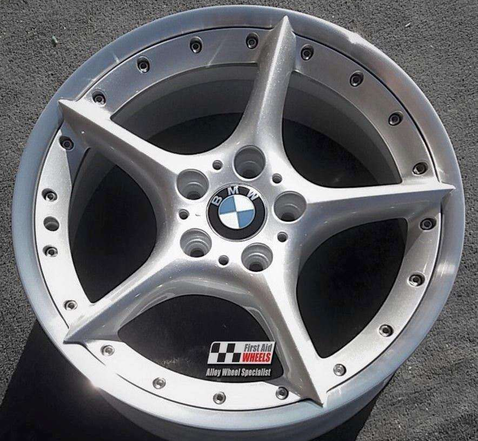 "R107 Silver BMW Z4 18"" - Split Rim Style 108 Genuine Alloy Wheels Set of 4 - EXCHANGE"