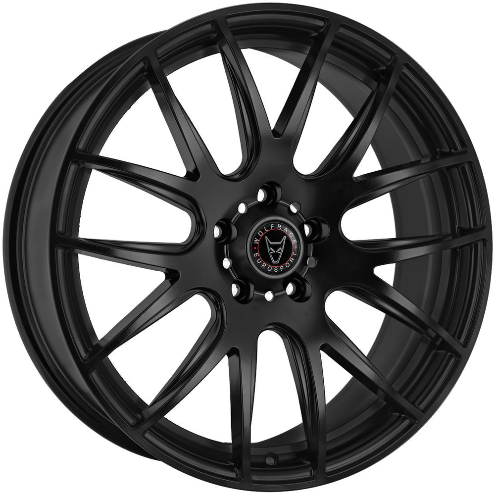 "Wolfrace Eurosport Munich 2 4x20"" Matt Black Alloy Wheels for Tesla Model S"