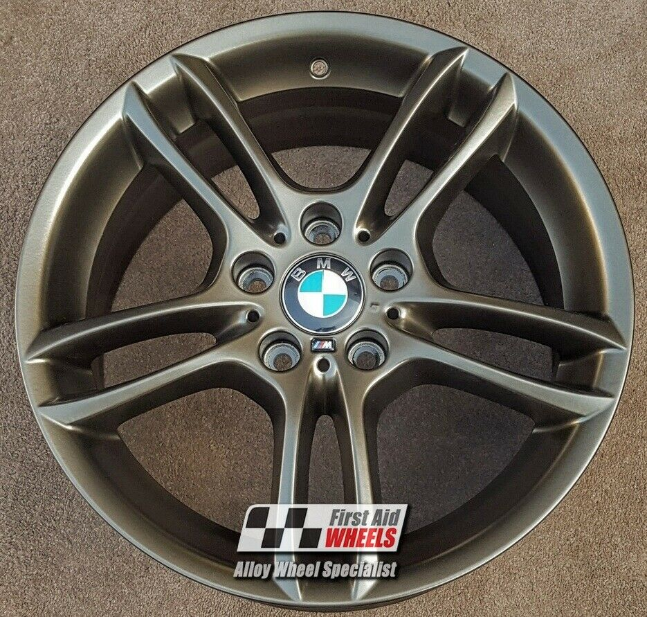 "R255AB Exchange BMW 1 SERIES 4X 18"" GENUINE STYLE 261M SATIN BRONZE ALLOY WHEELS"