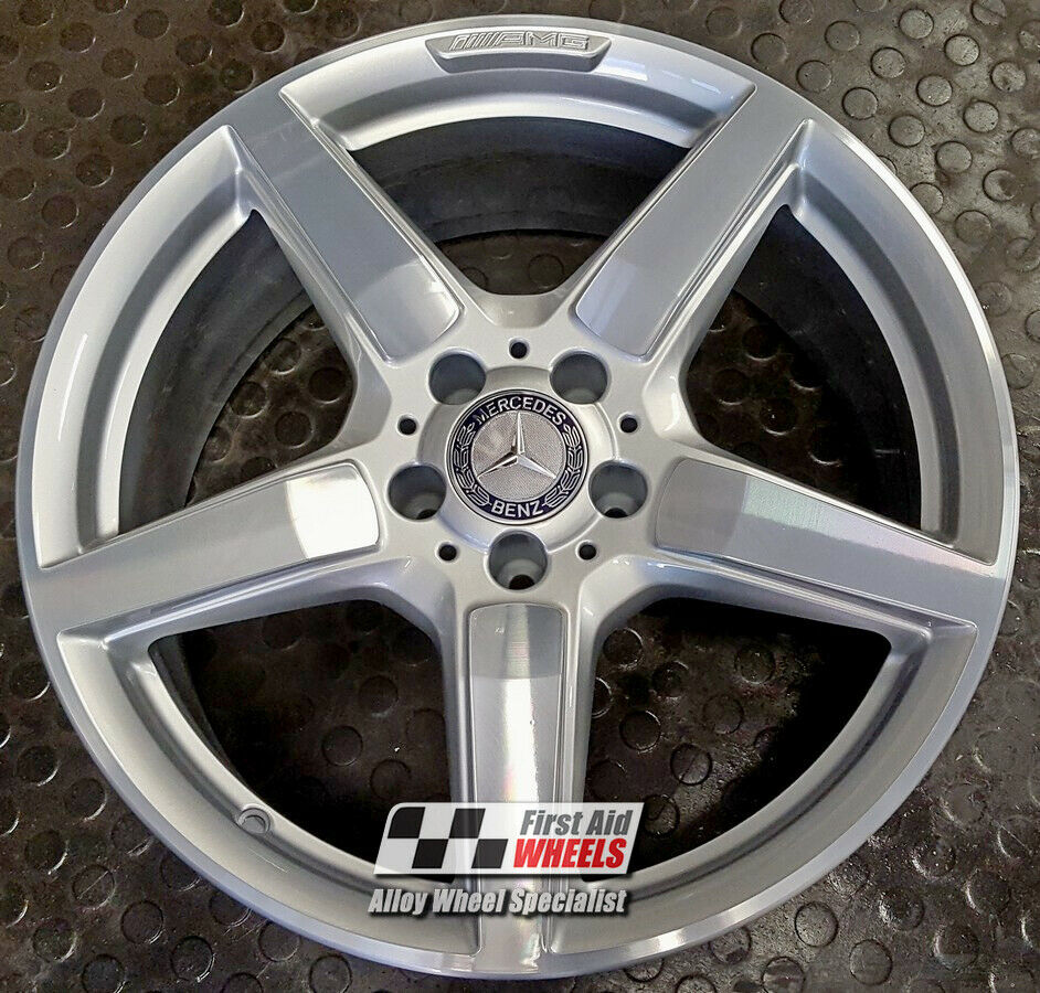 "R316DCS Exchange MERCEDES CLS C218 4X 19"" GENUINE AMG DIAMOND CUT ALLOY WHEELS"