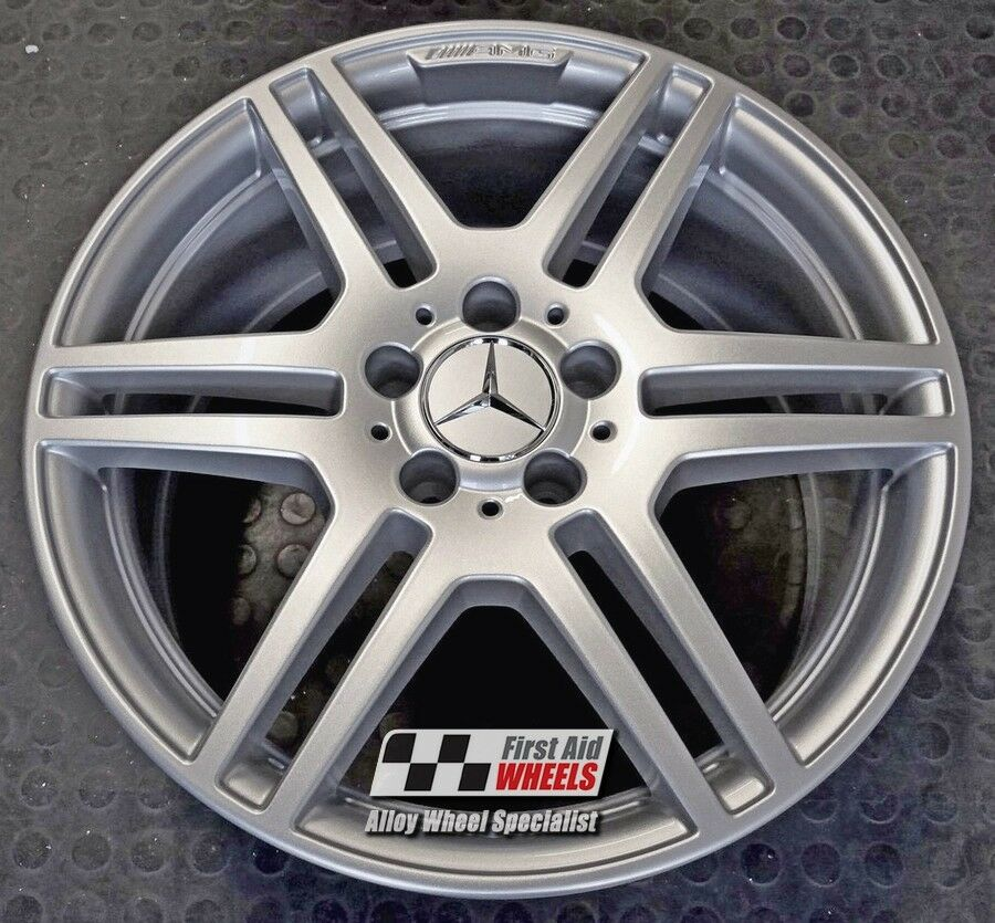 "R353S Exchange MERCEDES E CLASS CONVERTIBLE/COUPE 4X 18"" AMG SILVER ALLOY WHEELS"
