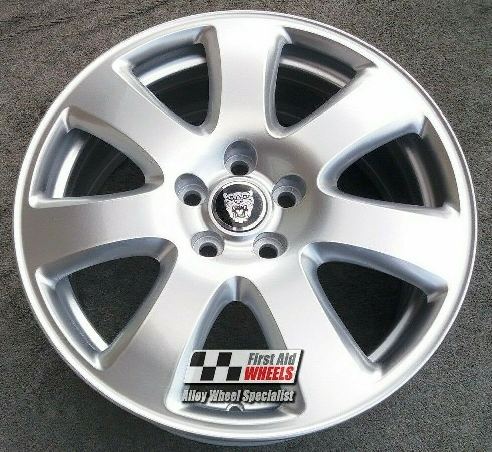 "R373S EXCHANGE Yours for Ours JAGUAR X-TYPE 4x 17"" GENUINE CAYMAN ALLOY WHEELS"