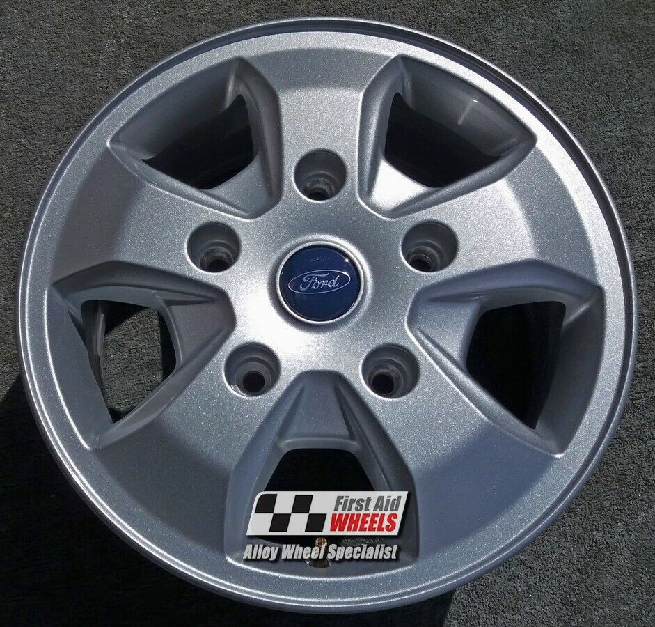 "R435 EXCHANGE for Ours FORD TRANSIT CUSTOM 4X 16"" GENUINE 5 SPOKE ALLOY WHEELS"