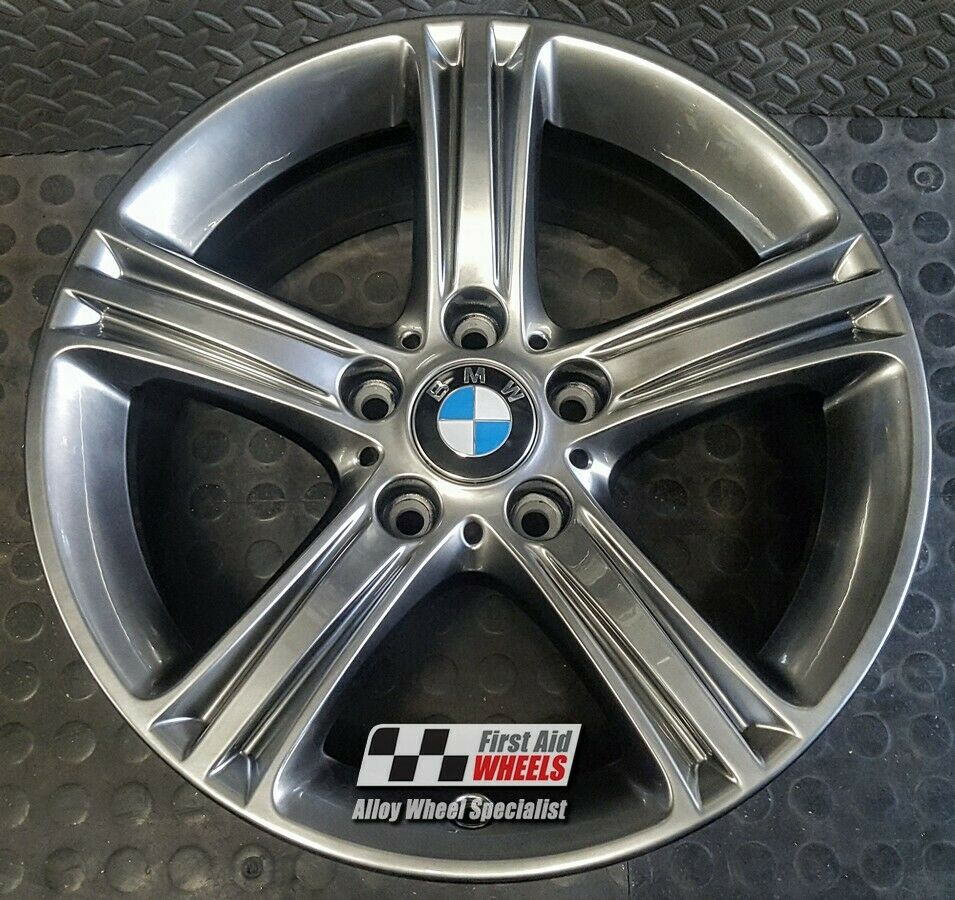 "R463SC Exchange BMW 3 / 4 SERIES F30 4x 17"" STYLE 393 SHADOW CHROME ALLOY WHEELS"