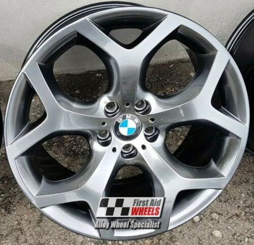 "R521SC Exchange BMW X6 E71 4X 20"" GENUINE STYLE 214 SHADOW CHROME ALLOY WHEELS"