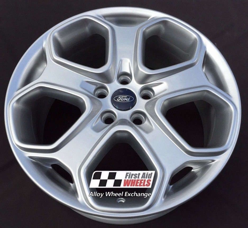 Ford Focus Wheels >> R261 Silver Ford Focus Titanium S 18 Y Spoke Genuine