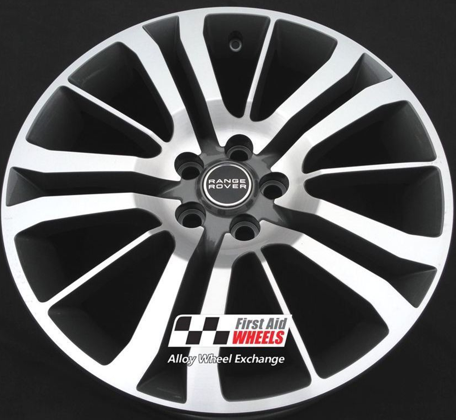 "R146 Diamond Cut Anthracite RANGE ROVER SPORT HSE 20"" - Genuine Alloy Wheels Set of 4 - EXCHANGE"