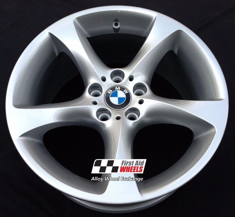 "R219 Silver BMW 3 SERIES E90 E93 19"" - Style 230 Twist Genuine Alloy Wheels Set of 4 - EXCHANGE"