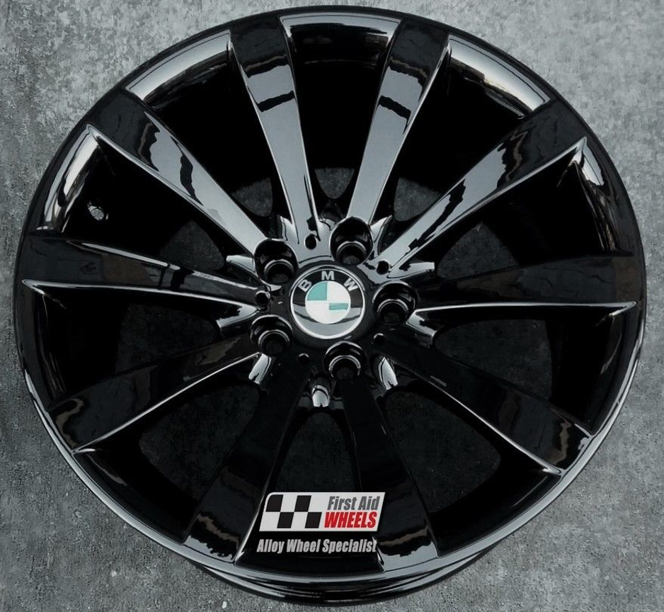 "R220 Gloss Black BMW 6 SERIES E63 64 STYLING 218 19"" - Genuine Alloy Wheels Set of 4 - EXCHANGE"
