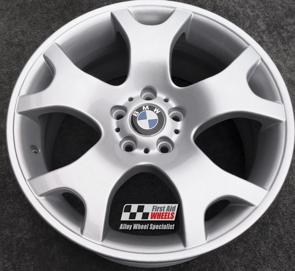 "R410 Silver BMW X5 E53 19"" - Style 63 TIGER CLAW Genuine Alloy Wheels Set of 4 - EXCHANGE"