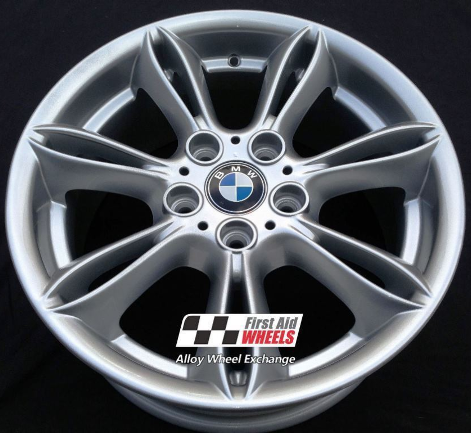 "R224 Silver BMW Z4 E85 17"" - Style 103 Genuine Alloy Wheels Set of 4 - EXCHANGE"