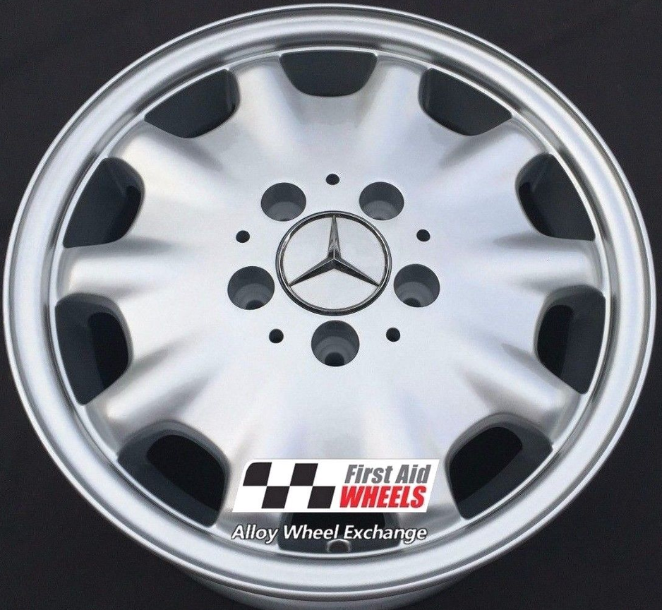 "R310 Silver MERCEDES C CLASS S202 W202 15"" - Genuine Alloy Wheels Set of 4 - EXCHANGE"