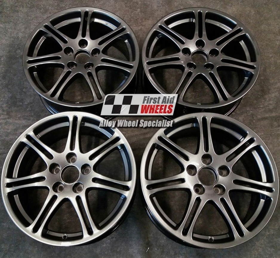 "R202 Sparkle Anthracite HONDA CIVIC TYPE R EP3 17"" - Genuine Alloy Wheels Set of 4 - EXCHANGE"