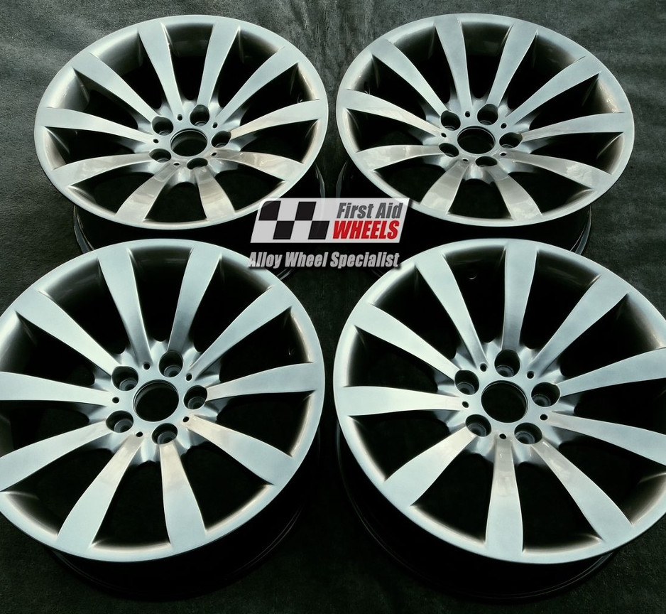"R220 Shadow Chrome BMW 6 SERIES E63 64 STYLING 218 19"" - Genuine Alloy Wheels Set of 4 - EXCHANGE"