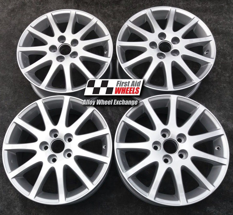 "R260 Silver LEXUS IS200 17"" - 11 Spoke Genuine Alloy Wheels Set of 4 - EXCHANGE"