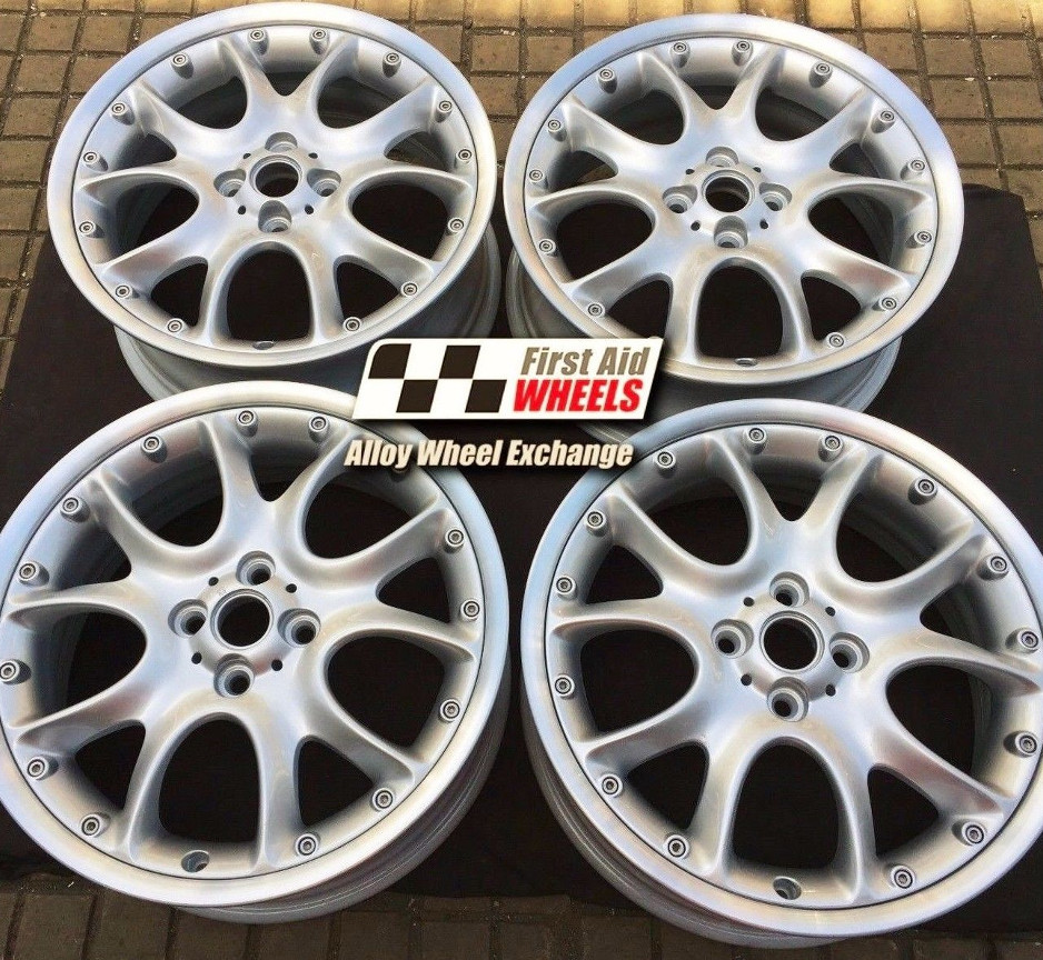 "R341 Silver MINI COOPER S 17"" - R98 WEB Spoke Split Rim Genuine Alloy Wheels Set of 4 - EXCHANGE"