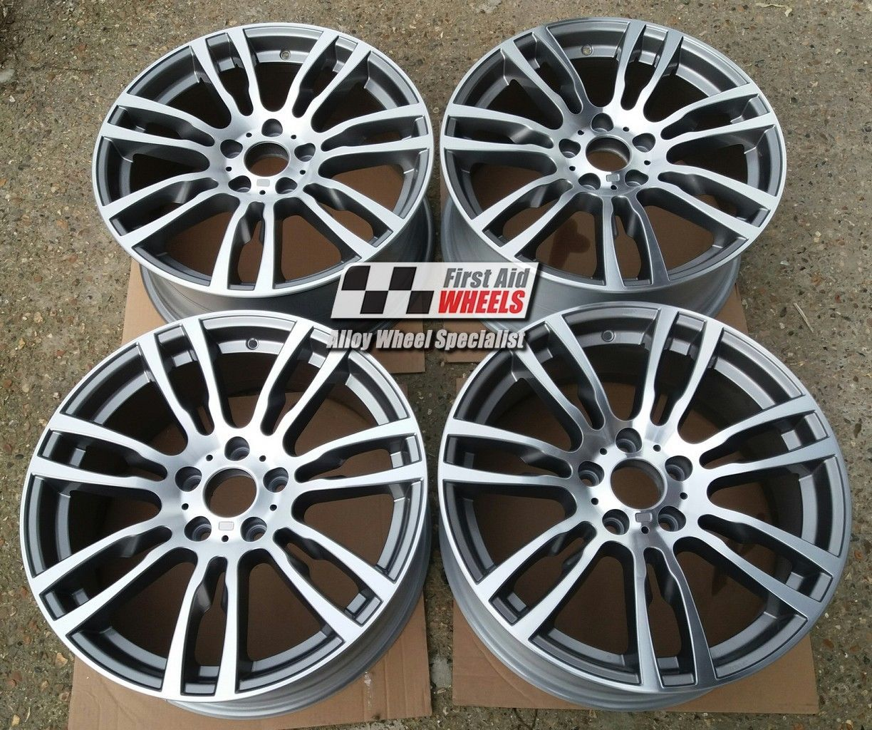 "R354 Diamond Cut BMW 3 F30 19"" - Style 403M Genuine Alloy Wheels Set of 4 - EXCHANGE"