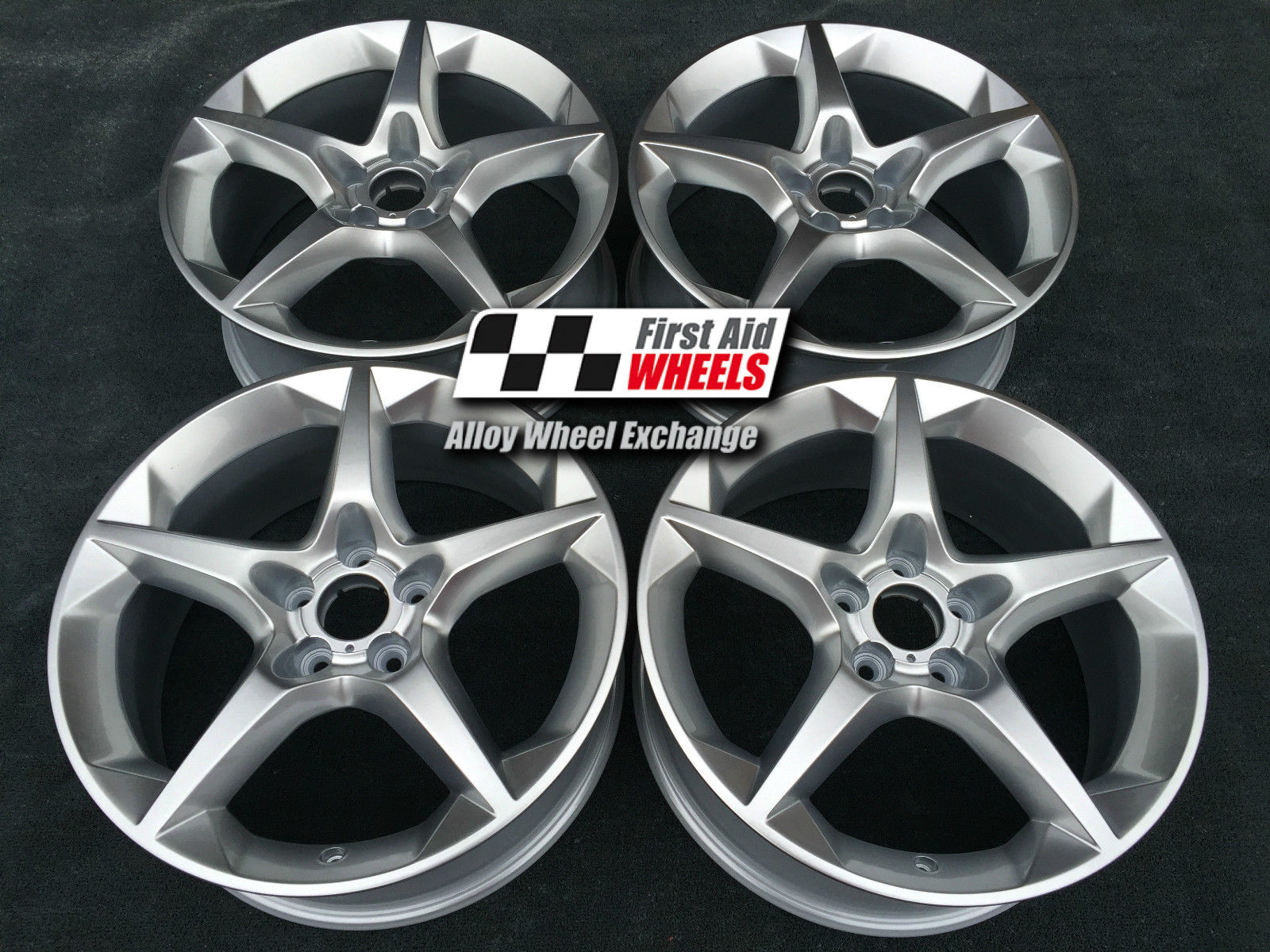 "R366 Silver VAUXHALL ASTRA SRI XP 18"" - PENTA Genuine Alloy Wheels Set of 4 - EXCHANGE"