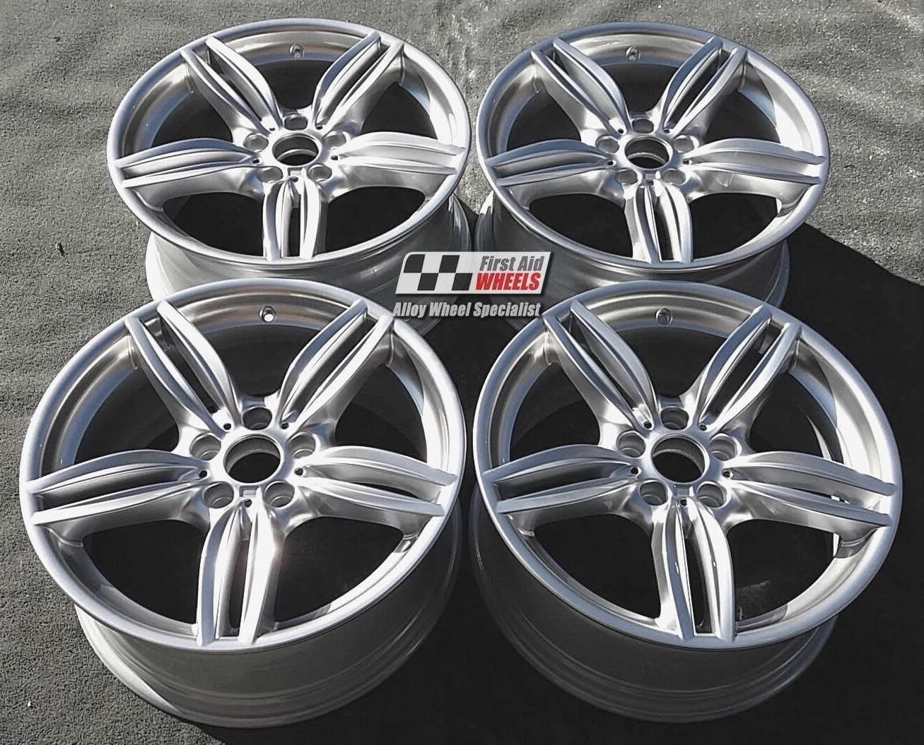 "R379 Silver BMW 5 SERIES 19"" - Style 351M Genuine Alloy Wheels Set of 4 - EXCHANGE"