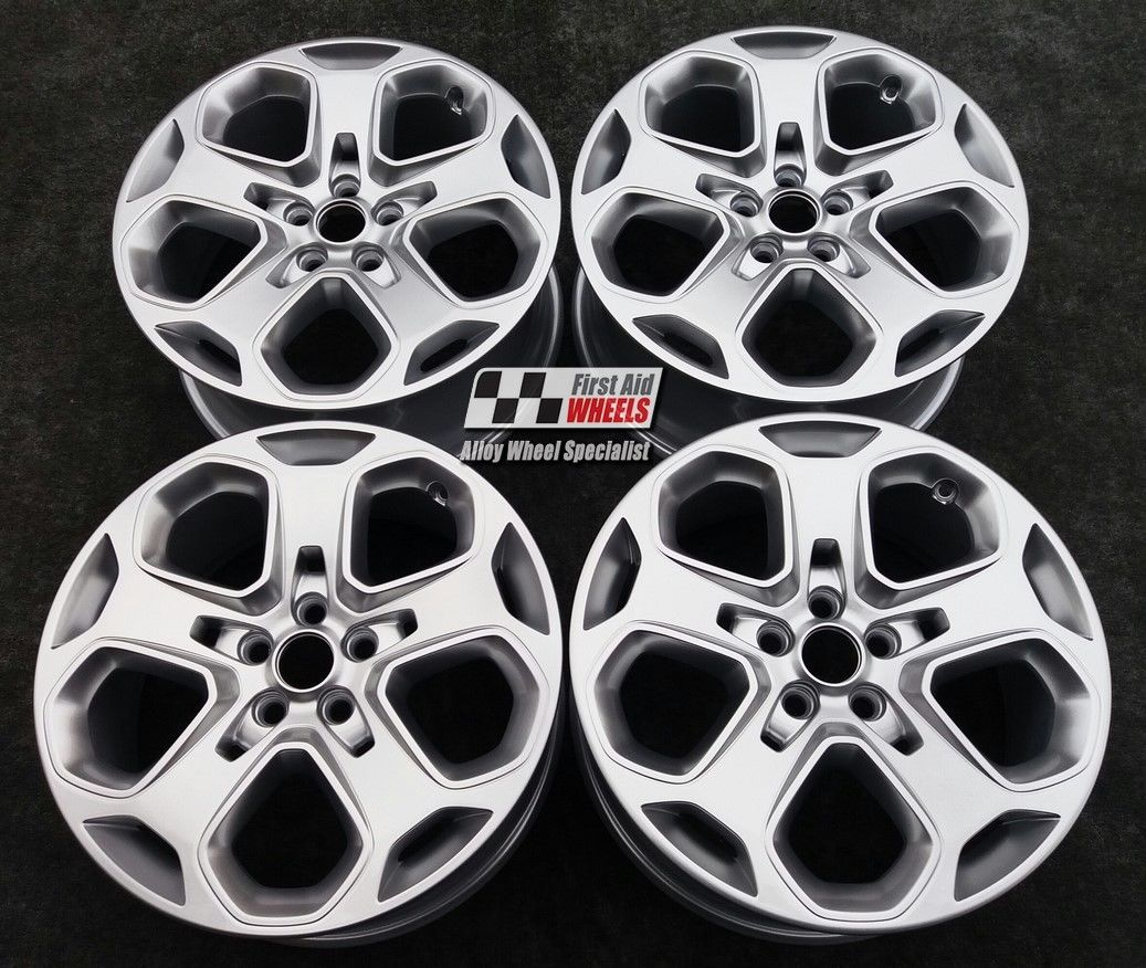 "R397 Silver FORD MONDEO 18"" - Y Spoke Genuine Alloy Wheels Set of 4 - EXCHANGE"