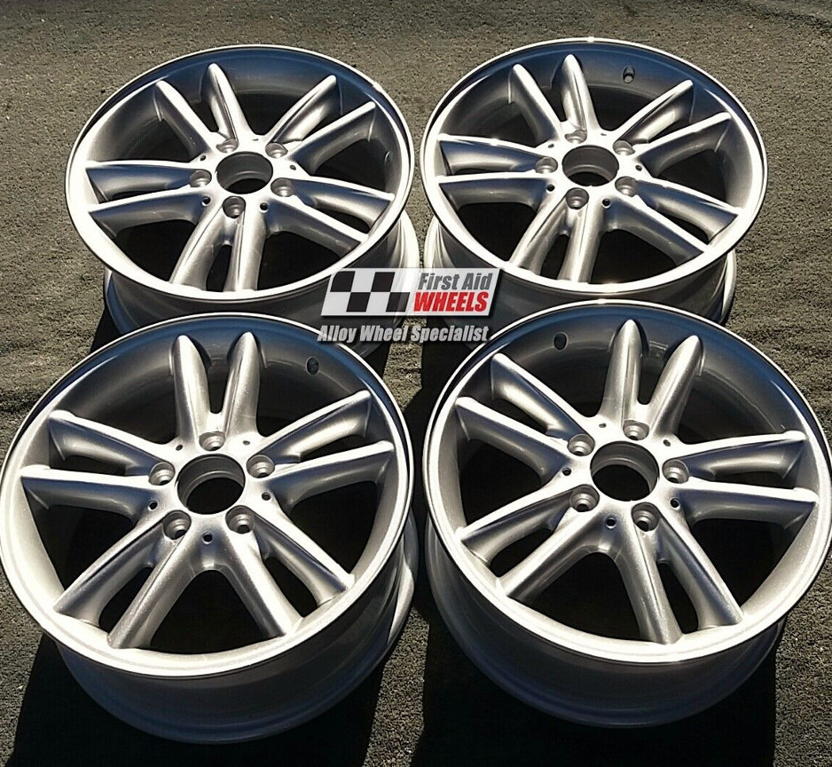 "R428 Silver MERCEDES C CLASS 203 16"" - ELECTRA Genuine Alloy Wheels Set of 4 - EXCHANGE"